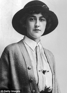 """Young Agatha Christie, during the years she wrote """"The Mysterious Affair at Styles."""" Her first murder mystery was written as early as 1916, but not published until 1920 in the U.S. and 1921 in the U.K."""